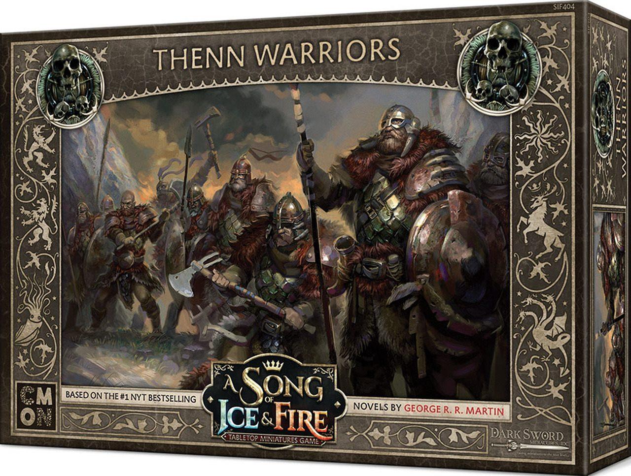 Thenn Warriors Boite de jeu