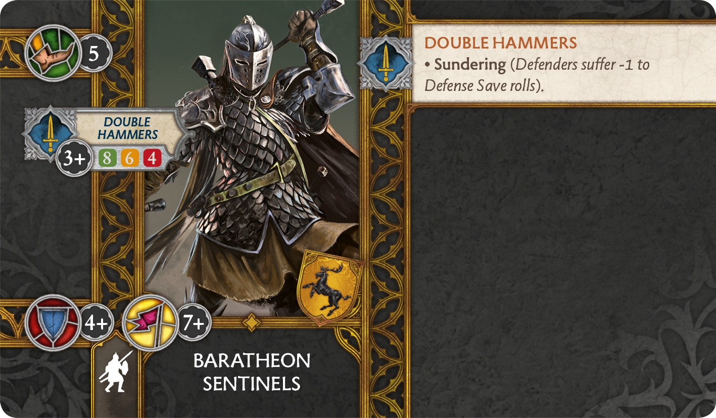 Baratheon Sentinels Preview