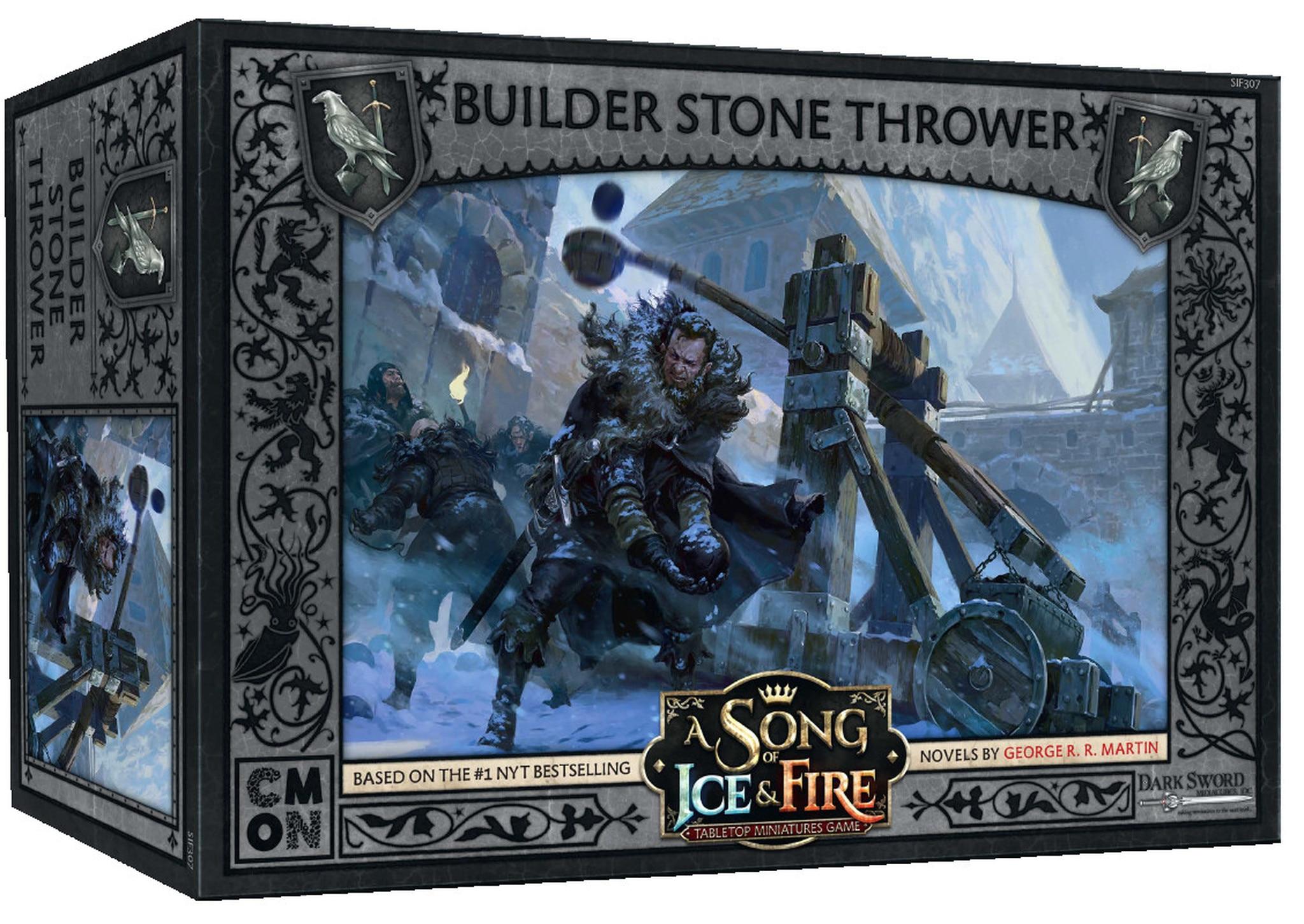 Builder Stone Thrower Boite de jeu US