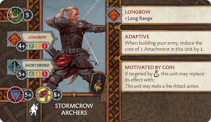 Stormcrow Archers (Verso) US